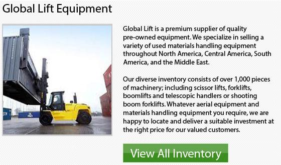 Nissan Order Picker Forklift